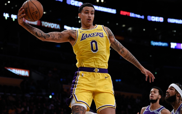 Kyle Kuzma Los Angeles Lakers