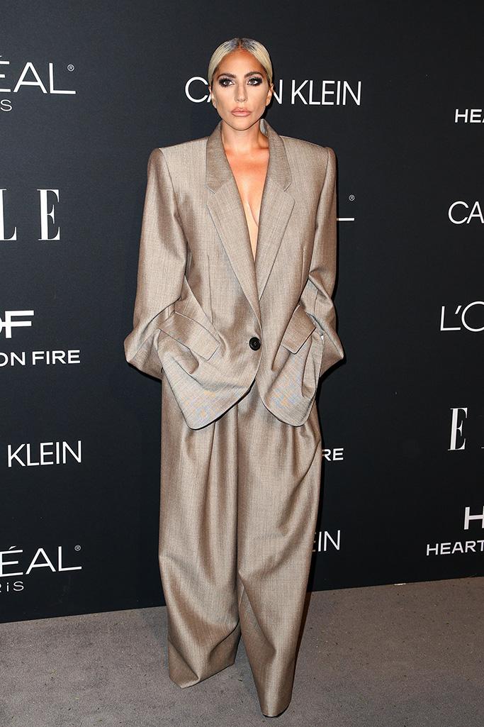 Lady Gaga Elle Women in Hollywood 2018