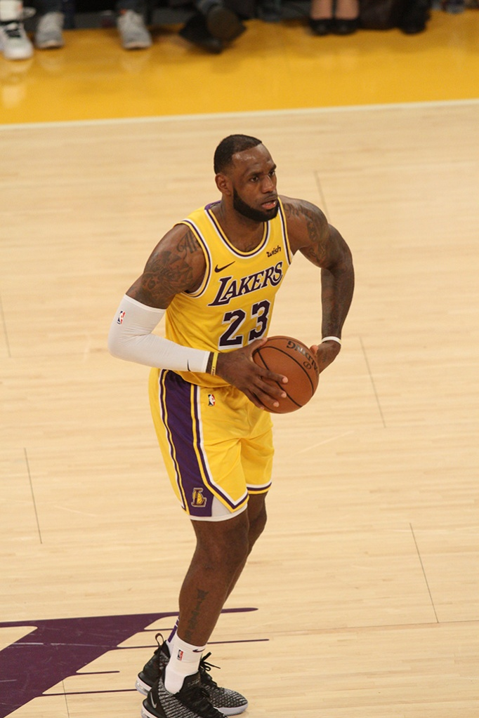 Tuesday October 2, 2018; The Denver Nuggets defeated the Los Angeles Lakers by the final score of 113-111 in a preseason game at the Staples Center in Los Angeles.Pictured: LeBron JamesRef: SPL5030138 021018 NON-EXCLUSIVEPicture by: London Ent / SplashNews.comSplash News and PicturesLos Angeles: 310-821-2666New York: 212-619-2666London: 0207 644 7656Milan: +39 02 4399 8577Sydney: +61 02 9240 7700photodesk@splashnews.comWorld Rights