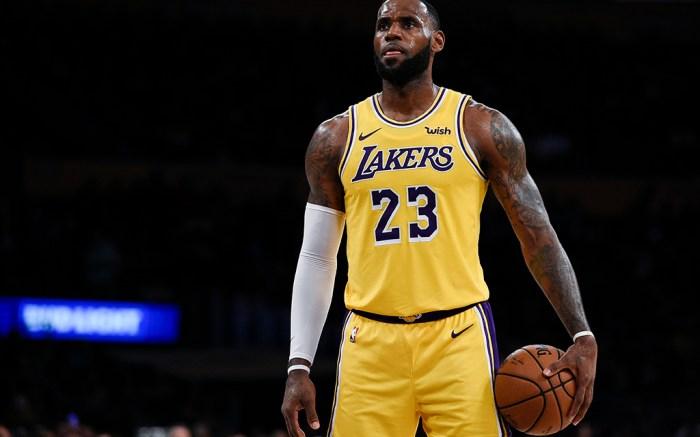 LeBron James Lakers Basketball
