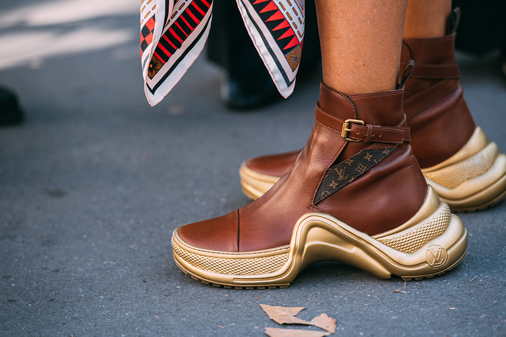 paris fashion week, street style, louis vuitton, futuristic, sneakers, jason jean