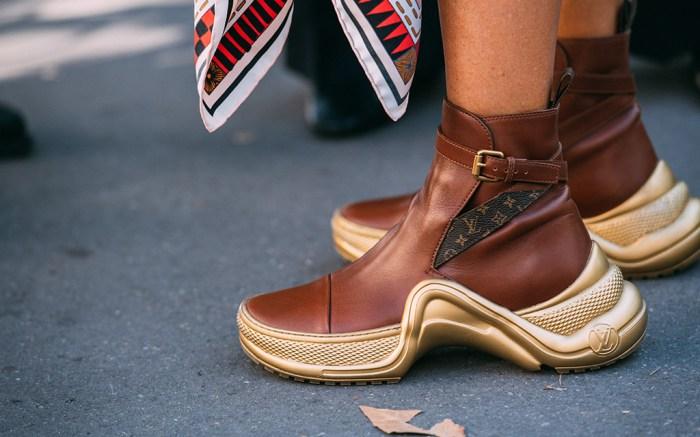 paris fashion week, street style, louis vuitton, futuristic, sneakers, jason jean