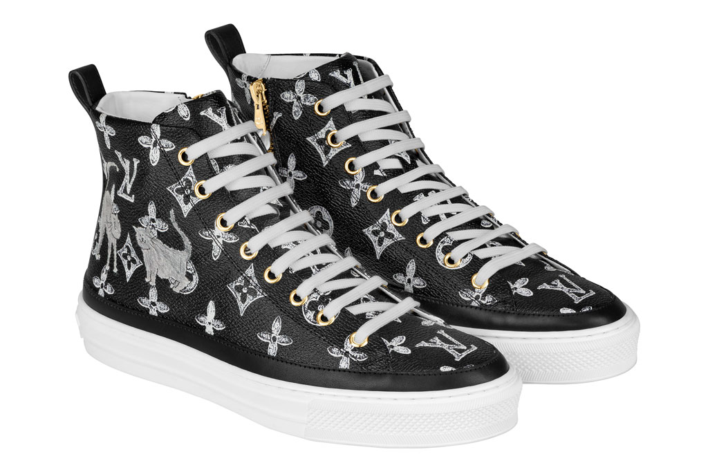 Sneakers from the Catogram collection.