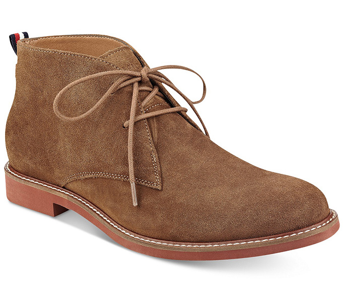 Tommy Hilfiger Men's Gervis Chukka Boots
