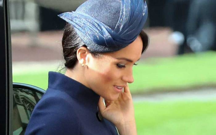 Meghan Markle wore Givenchy to Princess Eugenie's wedding.