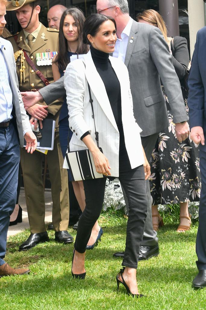 meghan markle, l'agence, tabitha simmons, high heels