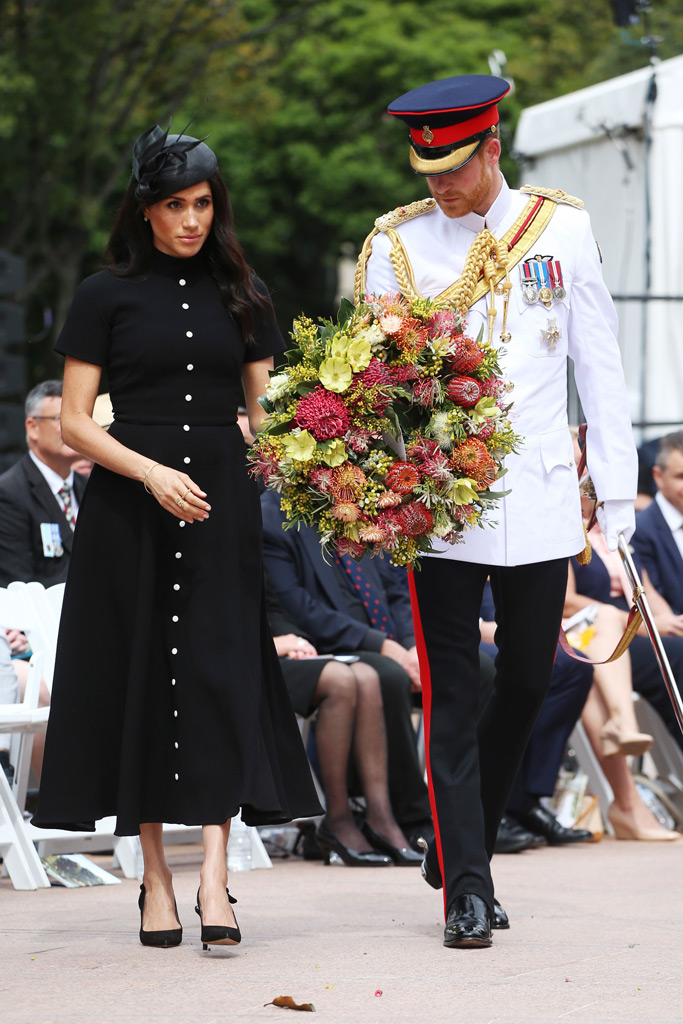 Meghan Markle, Prince Harry, Anzac Memorial, Australia tour, wreath