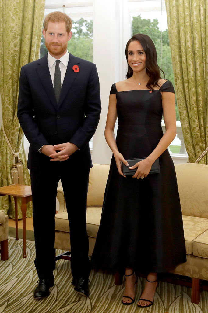 Meghan Markle and Prince Harry, new zealand, reception, governor's house
