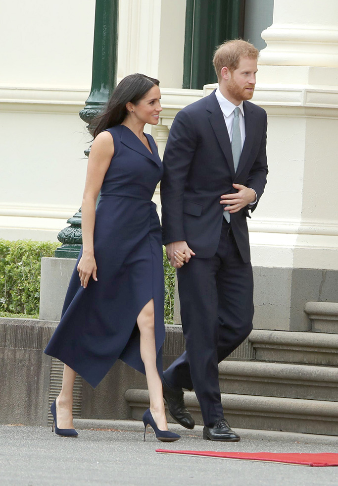 Meghan Duchess of Sussex and Prince Harry at the Government House VictoriaPrince Harry and Meghan Duchess of Sussex tour of Austraila, Day 3, Melbourne - 18 Oct 2018