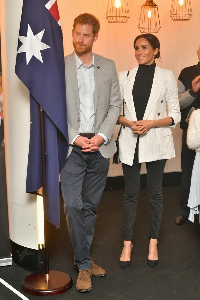 Meghan Markle, tabitha simmons, australia, style