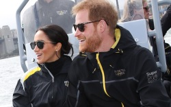 Meghan Markle, Prince Harry, sailing, australia,