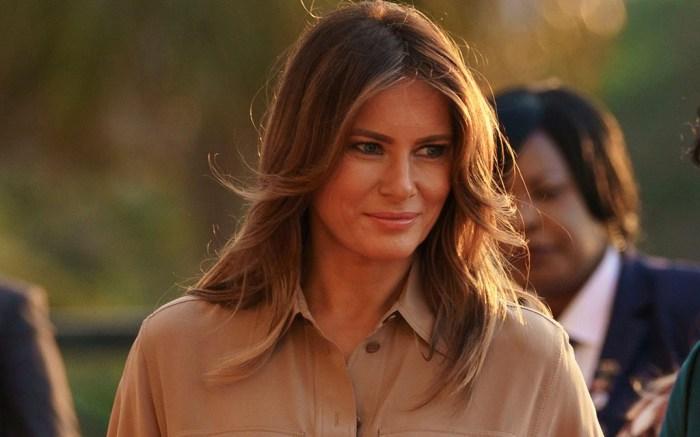 Melania Trump Africa, Lilongwe, Malawi – 04 Oct 2018