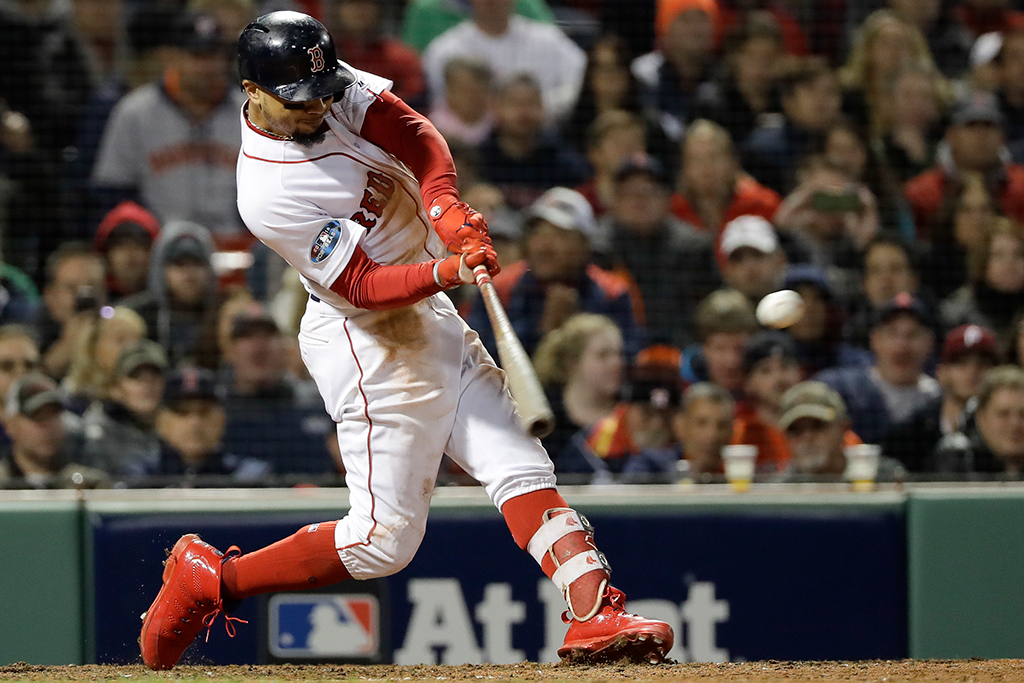 Mookie Betts Boston Red Sox Air Jordan 9