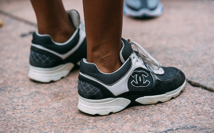 new york fashion week, street style, chanel sneakers, jason jean
