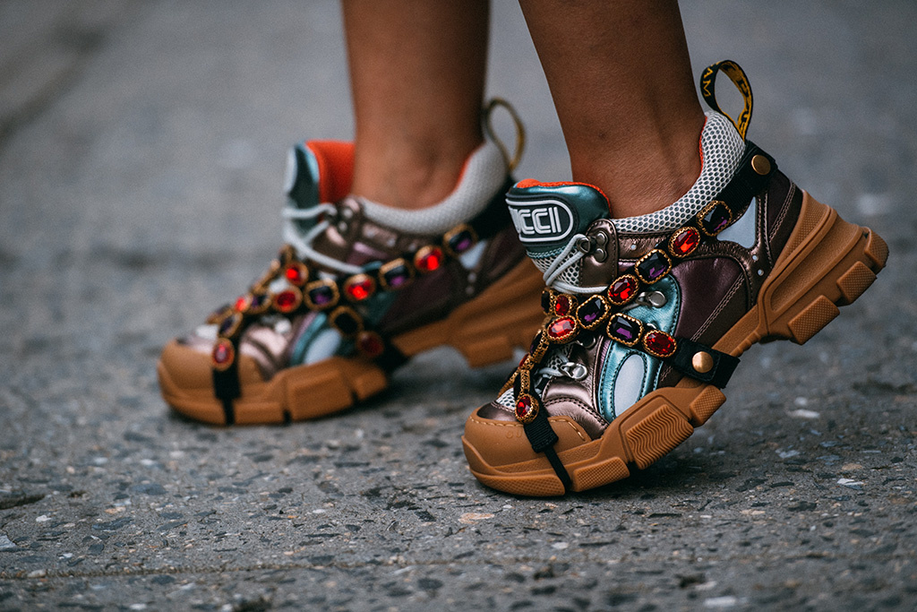 new york fashion week, street style, gucci flashtrek sneakers, jason jean