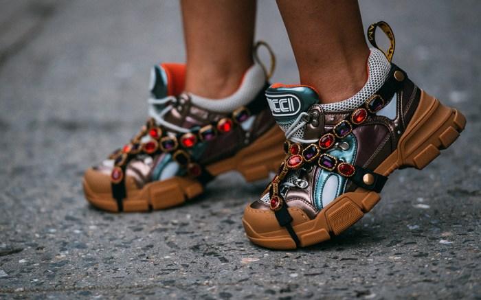 new york fashion week, street style, gucci flashtrek sneakers, jason jean
