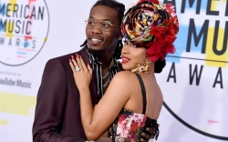 offset and cardi, amas 2018
