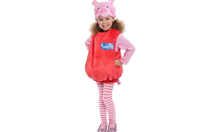 peppa pig, halloween, bubble dress, costume