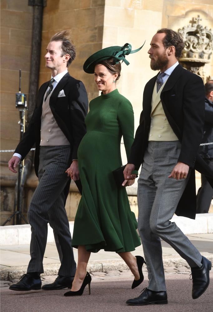 princess eugenie's wedding, james matthews and pippa middleton