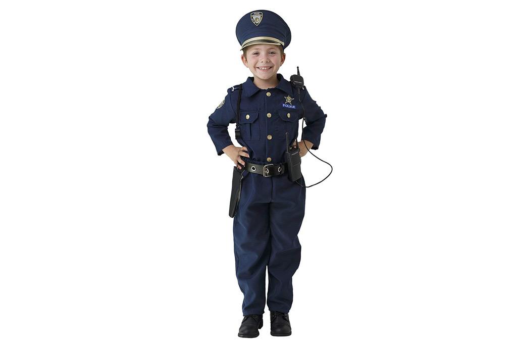 police man, halloween, costume