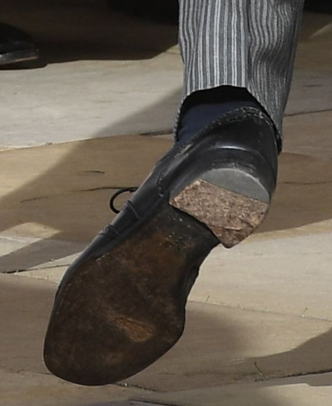 prince harry's worn shoes
