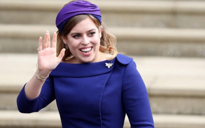 princess beatrice, princess eugenie wedding