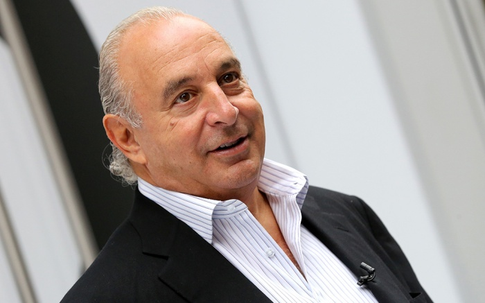 British Business Magnate and Owner of Topshop and Topman Sir Philip Green Attends the Grand Opening of the New Flagship Topshop and Topman 5th Avenue Store New York New York Usa 05 November 2014 United States BrooklynUsa Topshop Opening - Nov 2014