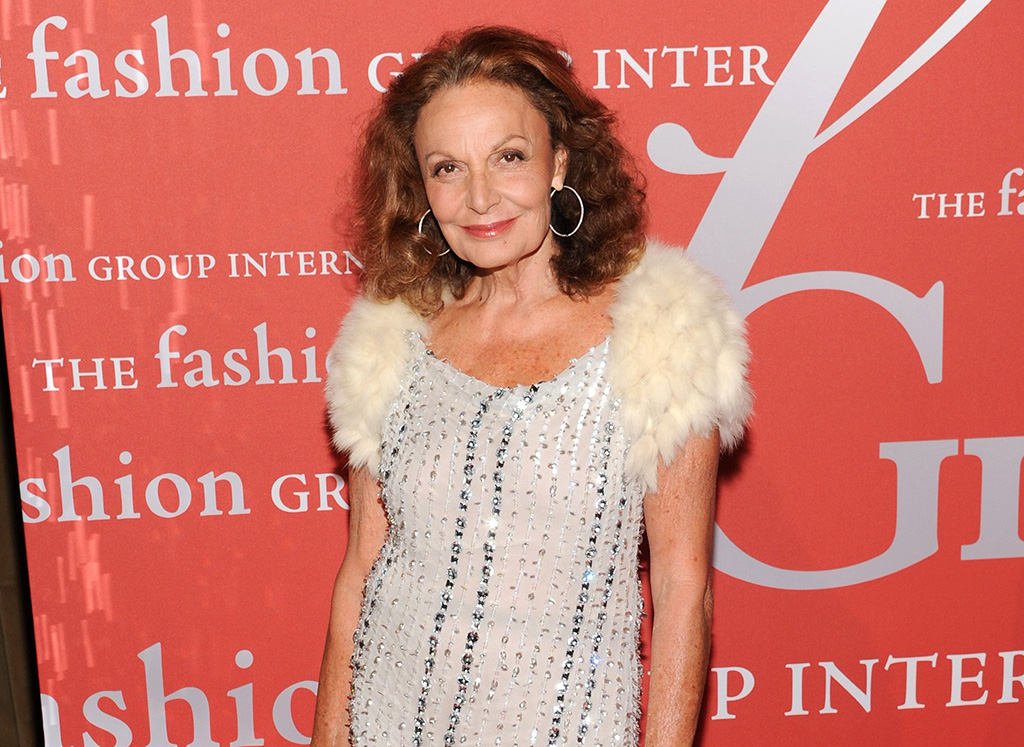 """Fashion designer Diane von Furstenberg at the Fashion Group International's 30th annual """"Night Of Stars"""" awards gala in New York. Pop singer St. Vincent will give a live performance at designer Diane von Furstenberg's Fashion Week runway show on Feb. 9, debuting songs from her new self-titled album, which comes out some two weeks laterFashion-DVF-St Vincent, New York, USA - 22 Oct 2013"""