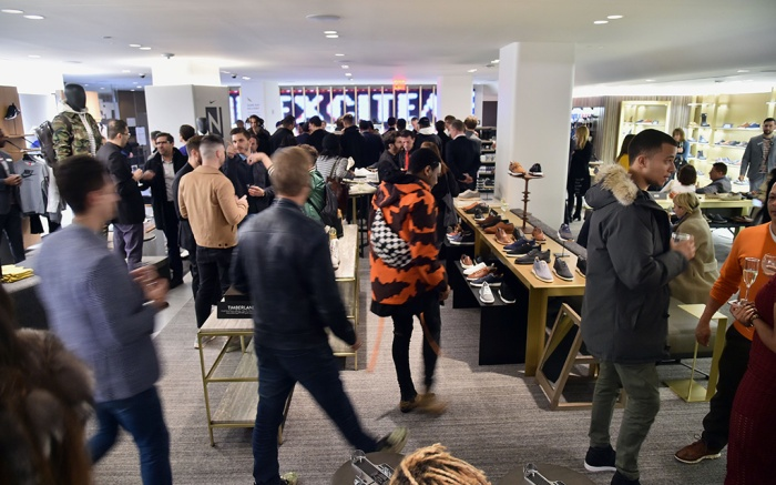 Atmosphere Nordstrom Mens Store VIP Party, New York, USA - 10 Apr 2018