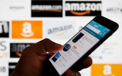 An online shopper browses shopping deals