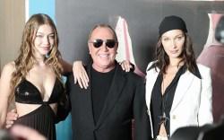 Gigi Hadid, Michael Kors, Bella Hadid