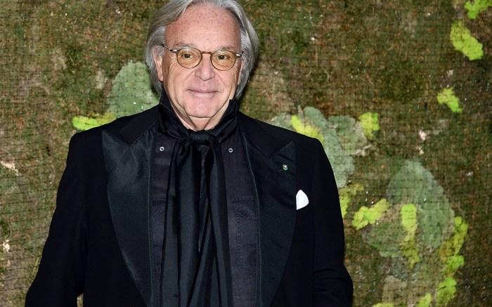 Diego Della Valle Green Carpet Fashion Awards Italia, Spring Summer 2019, Milan Fashion Week, Italy - 23 Sep 2018