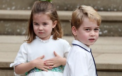 Princess Charlotte and Prince GeorgeThe wedding