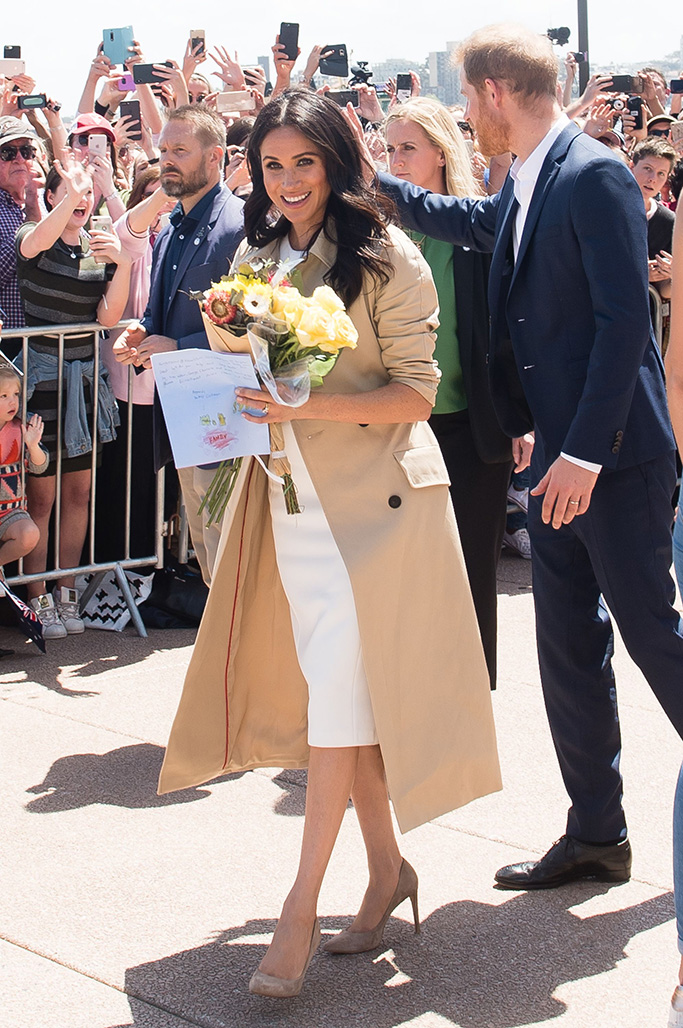 Meghan Markle Recycles Expensive Givenchy Coat Amid