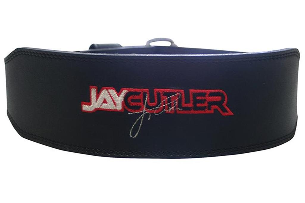 Schiek 4-inch Leather Jay Cutler Signature Lifting Belt