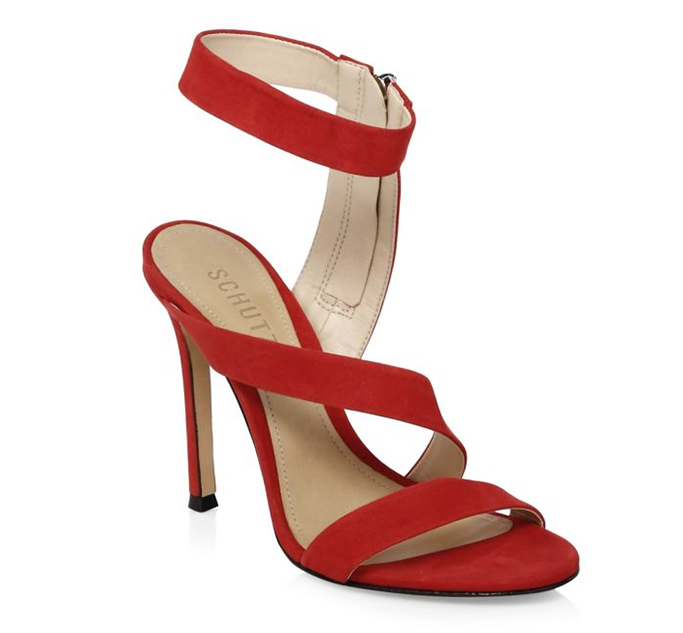 Schutz Lauanne Leather Sandals