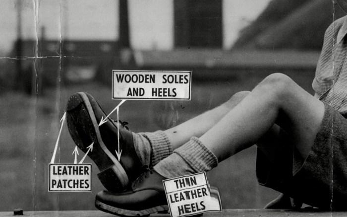 World War II Shoe Ad