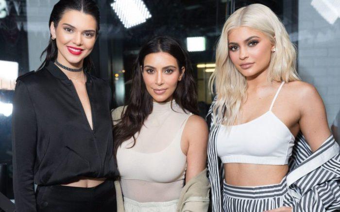 Kendall Jenner, Kim Kardashian, Kylie JennerKendall and Kylie Pop-Up Launch, New York, USA - 07 Sep 2016