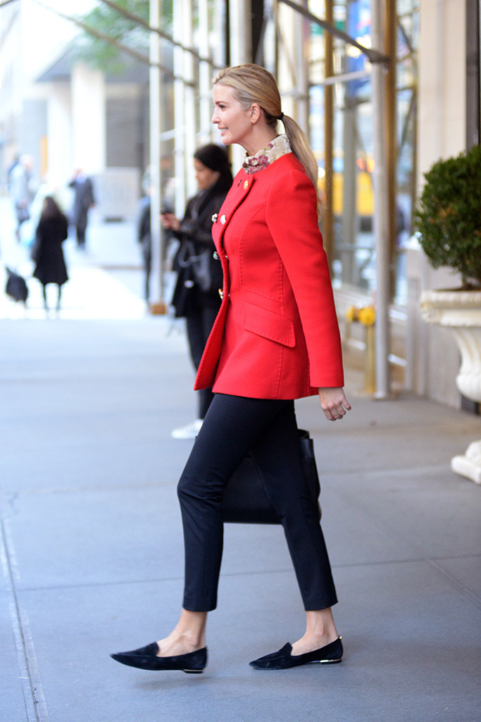 Ivanka Trump photographed leaving her New York City apartment on her way to a business meetingPictured: Ivanka TrumpRef: SPL5034335 181018 NON-EXCLUSIVEPicture by: Elder Ordonez / SplashNews.comSplash News and PicturesLos Angeles: 310-821-2666New York: 212-619-2666London: 0207 644 7656Milan: +39 02 4399 8577Sydney: +61 02 9240 7700photodesk@splashnews.comWorld Rights, No Portugal Rights