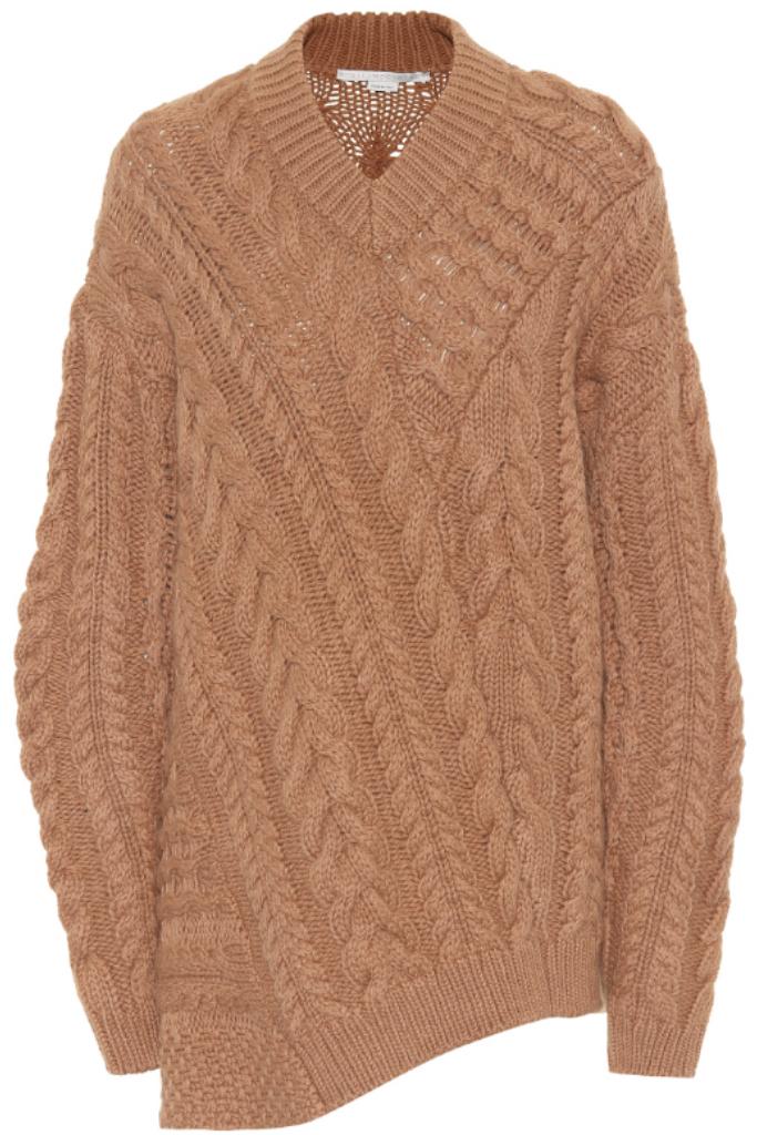 how to wear fall 2018 booties stella mccartney sweater mytheresa