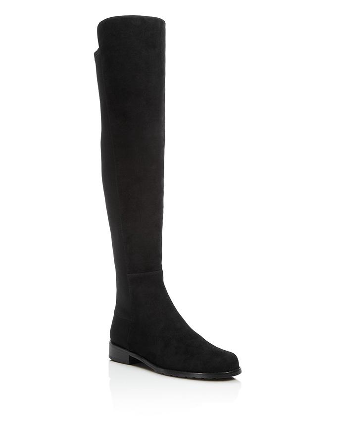 Stuart Weitzman5050 Suede Over-The-Knee Boots