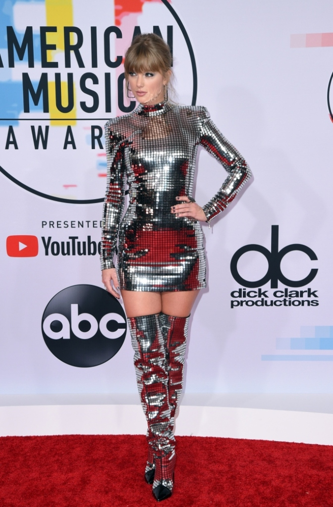 taylor swift, 2018 american music awards