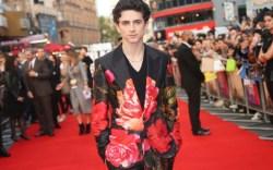 timothee chalamet, BFI London Film Festival