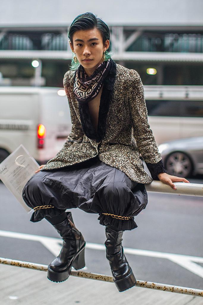 Street styleStreet Style, Spring Summer 2019, Tokyo Fashion Week, Japan - 16 Oct 2018