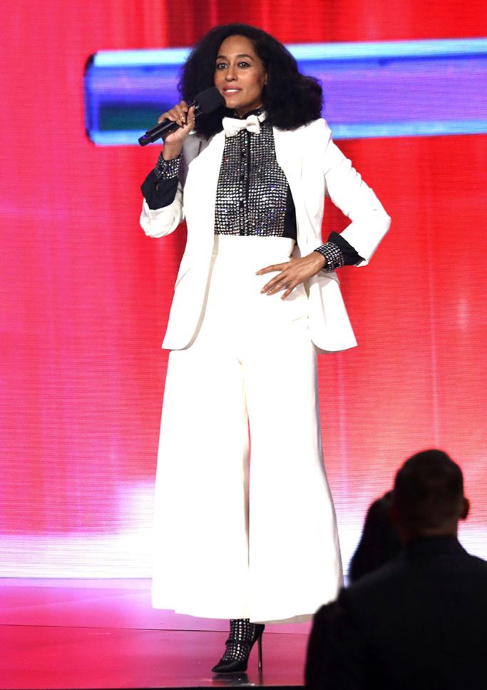 Tracee Ellis Ross, American Music Awards, host, Show, Los Angeles, USA - 19 Nov 2017