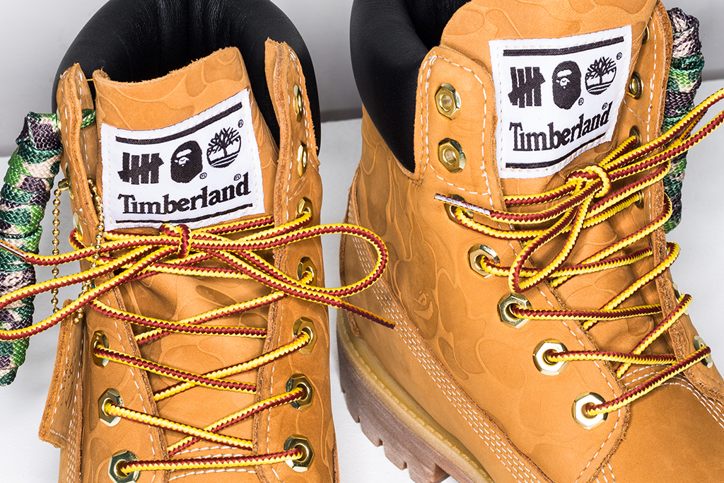 Undefeated x Bape x Timberland 6-Inch