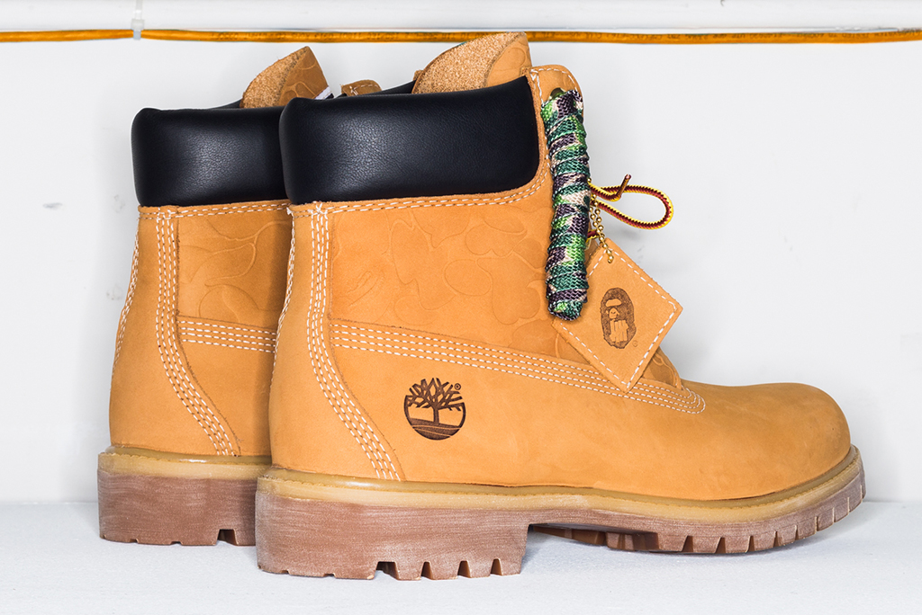 Undefeated x Bape x Timberland 6-inch boot
