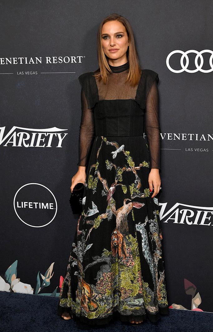 Natalie Portman Variety's Power of Women, Arrivals, Los Angeles, USA - 12 Oct 2018