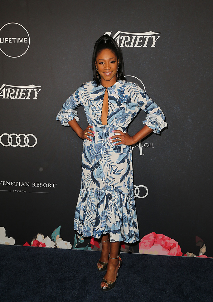 Tiffany Haddish attends Variety's Power of Women presented by Lifetime at The Beverly Wilshire on October 12, 2018 in Beverly Hills.Variety's Power of Women Presented by Lifetime, Arrivals, Los Angeles, USA - 12 Oct 2018