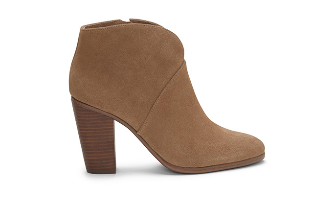 Vince Camuto Franell Notched bootie